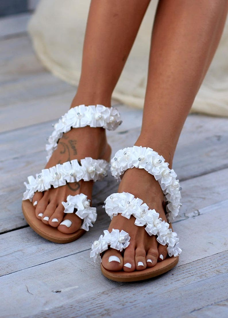 ccbf414245f2 Wedding sandals Beloved leather sandals women