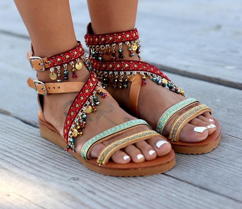 d49005c0de36 Handmade leather sandals Women sandals Greek sandals Summer