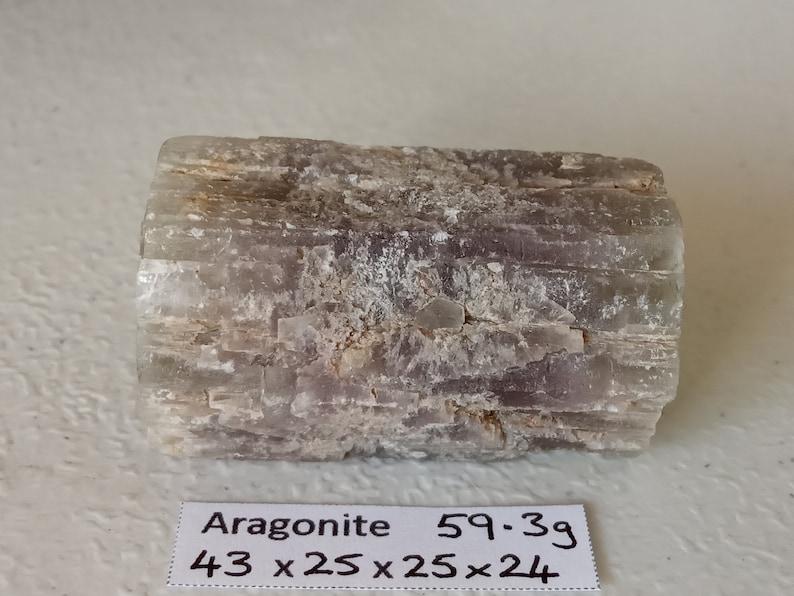 59.3g Natural rough SPANISH ARAGONITE ARGONITE