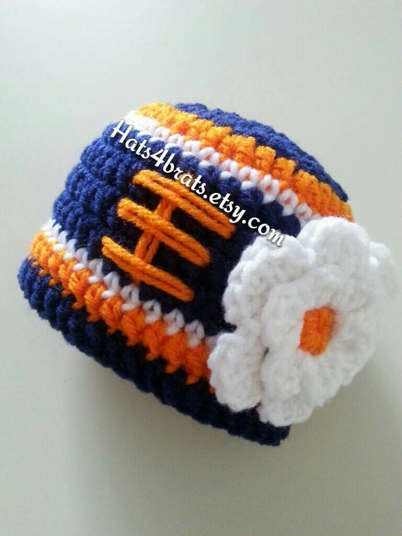39510a018 Baby Girl Denver Broncos Hat Newborn Broncos Hat Broncos