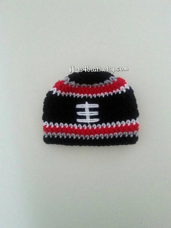 4380567ee92 Atlanta Falcons Crochet Hat Falcons Baby Hat Atlanta Falcons