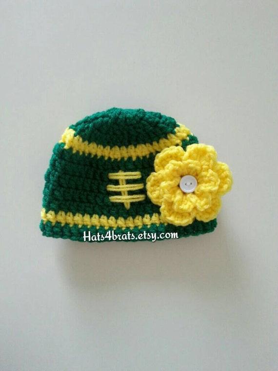 ... knit hat 02946 f4aa0 aliexpress baby girls green bay packer hat crochet  football hat baby etsy c7dc2 0d39b ... 72da3ab7c