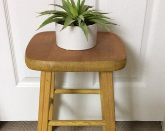 Square Stool Etsy