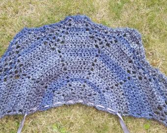 Outlandershawl, short cape, outlander scarf, wrap, shawl