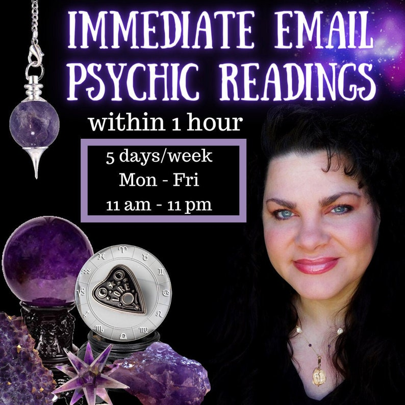 Immediate PSYCHIC Reading packages 5 days a week answered image 0