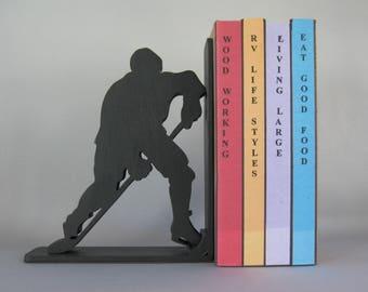 Ice Hockey Bookend