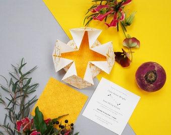 Origami Suite - Wedding Invitation SAMPLE*
