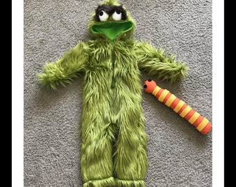 Grouch Costume Etsy