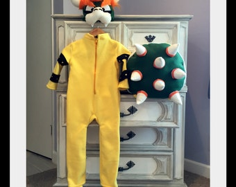Bowser Inspired Costume Mario Inspired Costume Luigi Inspired Costume Mario Kart Costume Mario Kart Birthday Party Mario Party & Bowser | Etsy