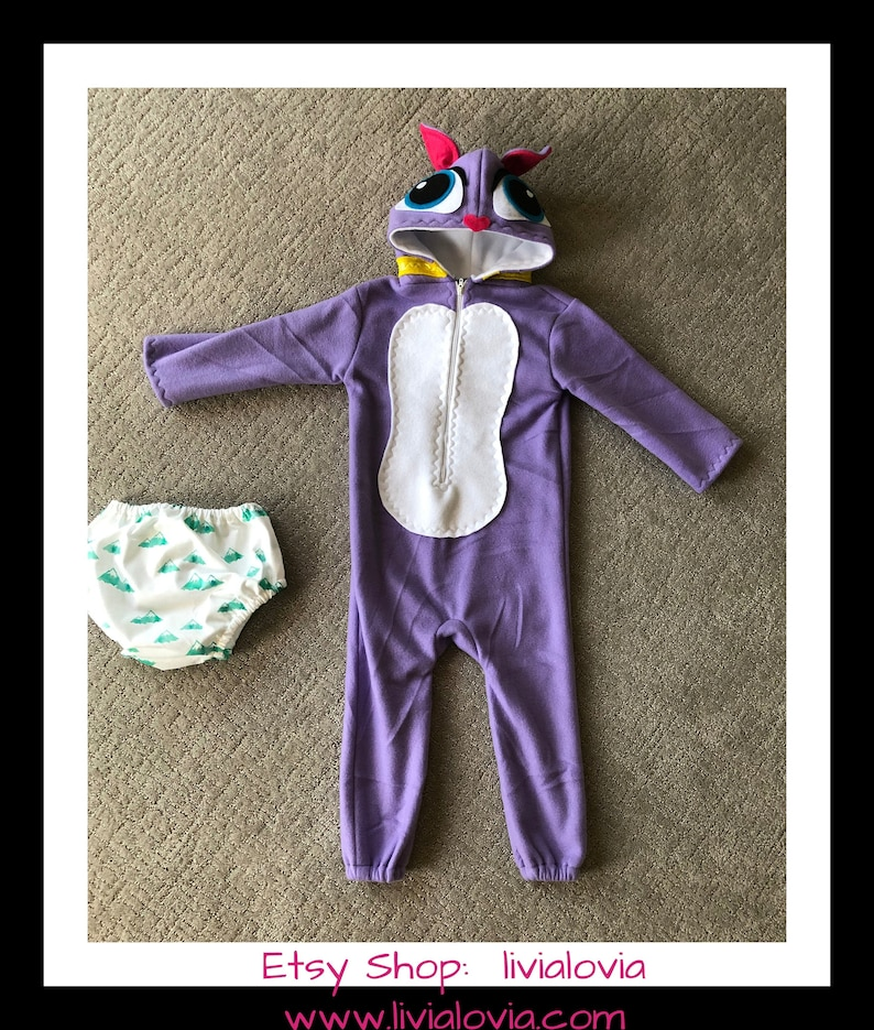 Purple Cat Costume Purple Kitty Costume Cat Costume Kitty Costume