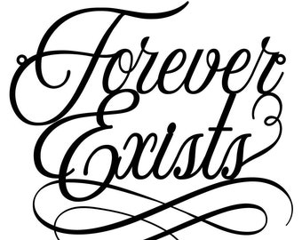 Forever Exists Chair Sign, Bridal Shower Sign, Bridal Shower Gift, Bridal Shower Chair Sign, Gold Chair Sign, Wooden Sign
