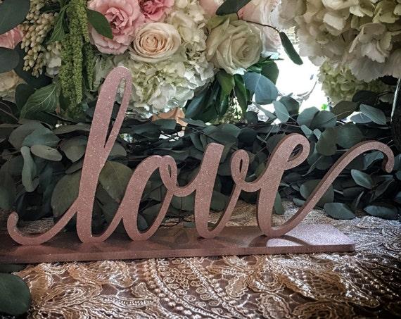 Love Sign, Wedding Sign, Bridal Shower Sign, Valentine's Day Sign, Bridal Shower Sign, Baby Shower Sign, Nursery Sign, Home Decor Sign