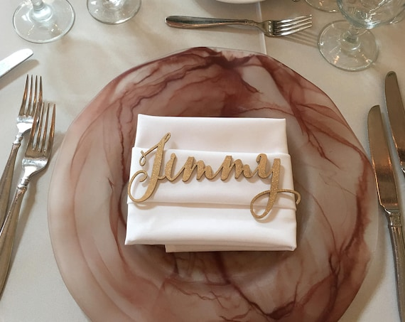 Custom Name Place Setting SAMPLE ONLY