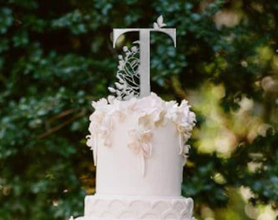 Monogram Wedding Cake Topper, Monogram Cake Topper, Monogram Topper, Letter Cake Topper, Letter Wedding Cake Topper, Letter Topper, Monogram