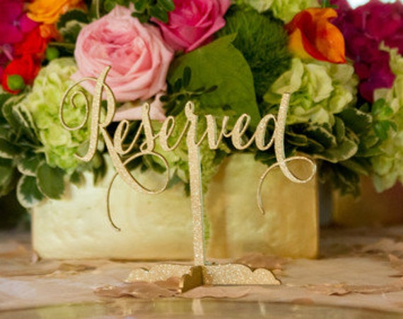 Reserved Sign, Reserved Table Sign, Wedding Reserved, Wedding Reserved Sign, Reserved for Family, Reserved Wedding Sign,