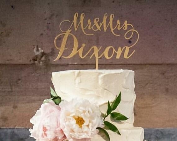 Custom Cake Topper, Personalized Cake Topper, Wedding Cake Topper, Engagement Cake Topper, Bridal Shower Cake Topper, Anniversary Topper