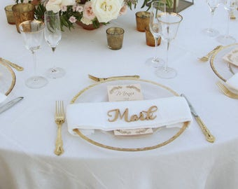 Laser Cut Name, Name Place Cards, Guest Names, Guest Seating, Place Card, Guest Setting, Place Card, Wedding Decorations, Escort Card