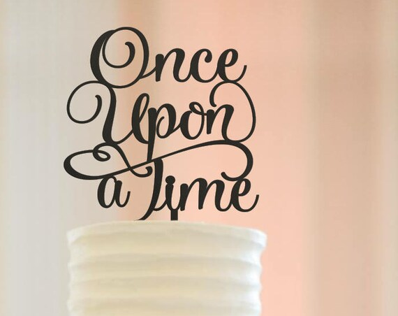 Disney Wedding Cake Topper, Once Upon A Time Cake, Once Upon A Time Cake Topper, Disney Wedding, Fairytale Wedding, Baby Shower Cake Topper