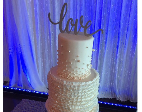 Love Wedding Cake Topper, Wedding Cake Topper, Cake Topper For Wedding, Wedding Cake, Trending Cake Topper, Gold Wedding Decor