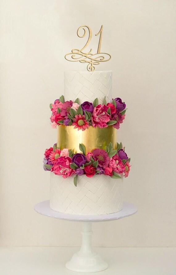21 Geburtstag Kuchen Deckel Geburtstag Kuchen Deckel 21 Etsy