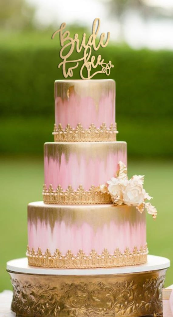 bridal shower decoration ideas homemade.htm bride to be cake topper bee bridal shower bride to bee cake etsy  cake topper bee bridal shower bride
