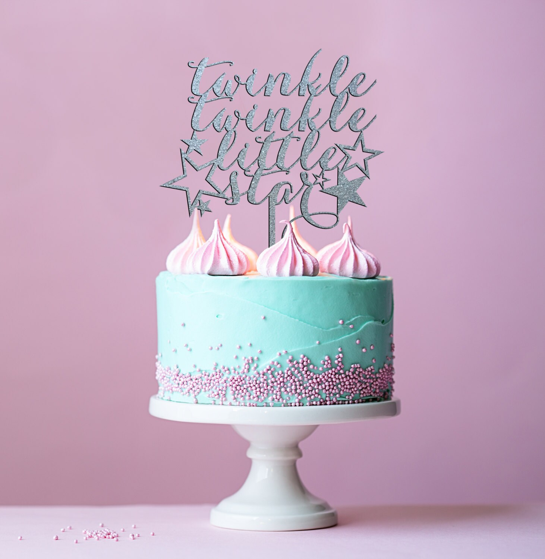 Baby Girl Cake Baby Boy Cake Gender Reveal Twinkle Twinkle Little