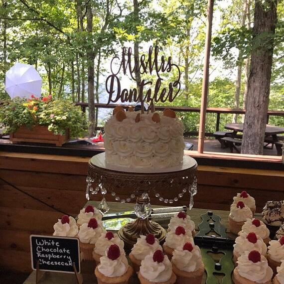 Mr and Mrs Cake Topper, Custom Cake Topper, Wedding Cake Topper, Engagement Cake Topper, Bridal Shower Cake Topper, Anniversary Cake Topper