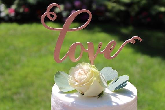 Love Cake Topper, Wedding Cake Topper, Cake Topper For Wedding, Cake Topper Wedding, Bridal Shower Cake Topper, Engagement Cake Topper, Love