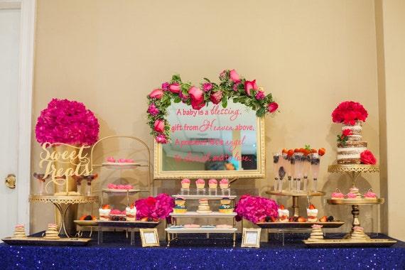 Sweet Treats Table Sign For Weddings Sweet Treats Sign Etsy