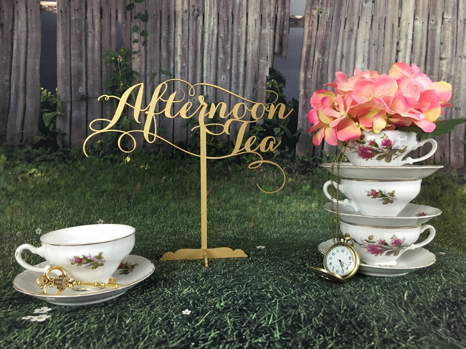 Tea Party Decoration Baby Shower Tea Party Alice In