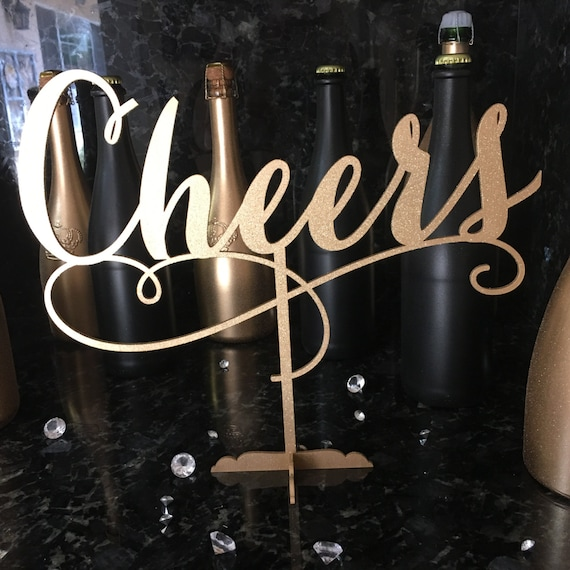 Cheers Wedding Sign, Bar Sign, Mimosa Bar Sign, Bubbly Bar, Bubbly Bar Sign, Cheers Bar sign, Cheers Sign, Champagne Table Decor