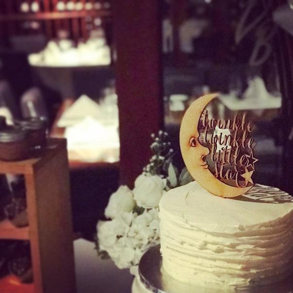 Baby Shower Cake Topper, Twinkle Twinkle Little Star Cake Topper, Baby Shower Cake Topper, Twinkle Twinkle Little Star Cake Topper