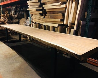 Conference Table Etsy - Wood slab conference table