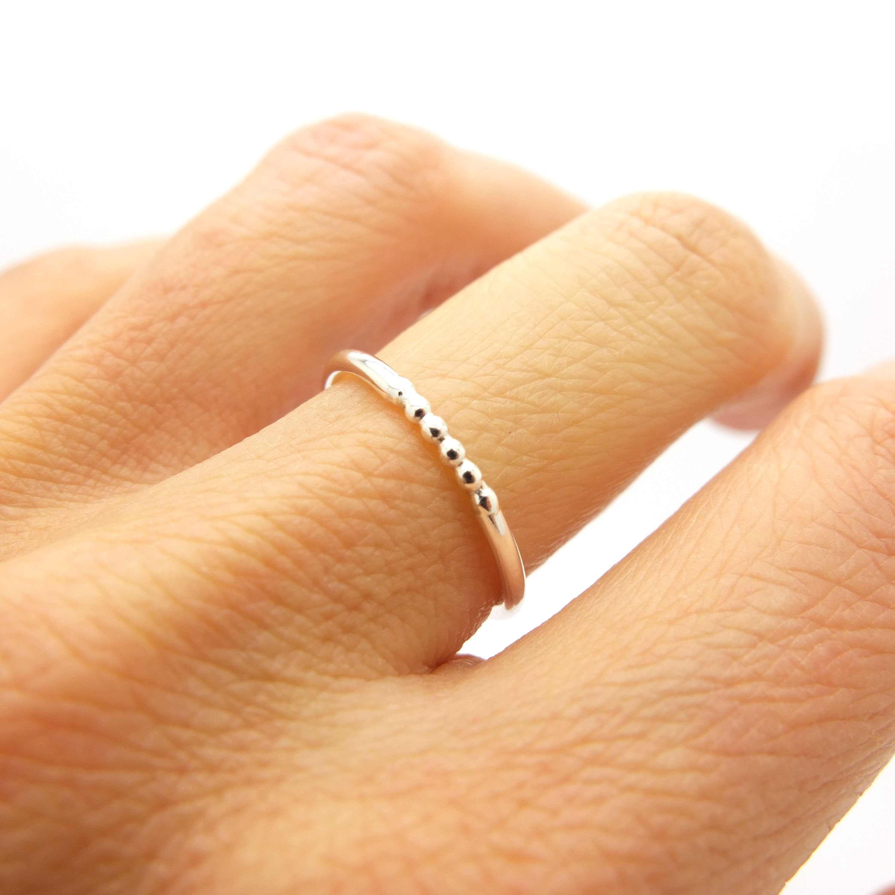 Simple Sterling Silver Stacking Ring