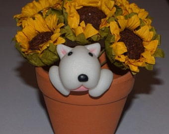English Bull Terrier Ornament.