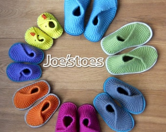 001ef4943d6ac US sizes! KIT to make Kid s Crossover Slippers