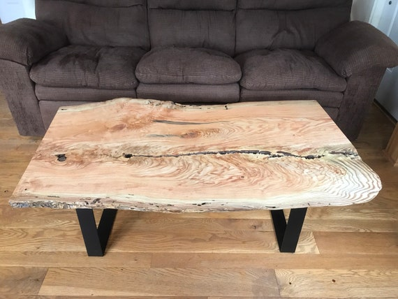Awe Inspiring Free Shipping Live Edge Honey Locust Coffee Table Pabps2019 Chair Design Images Pabps2019Com