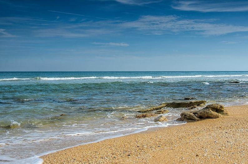 Ocean Art Print Florida Photography Beach Decor Print  Fine image 0