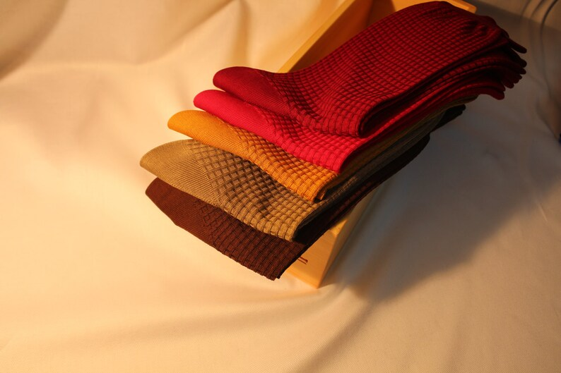 Luxury Textured Mens 100/% Cotton Socks
