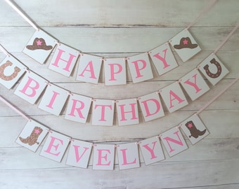 Cowgirl Birthday Decor, Cowgirl Banner, Cowgirl Decorations, Southern Party, Girl Western Birthday, Cowgirl Birthday, Cowgirl Party