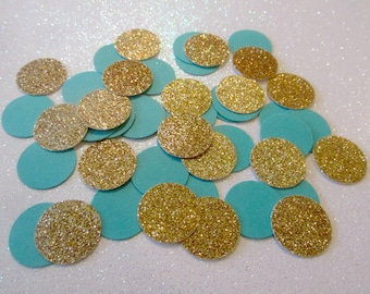 teal and gold glitter confetti teal party decor teal and gold party decor teal confetti gold glitter confetti teal bridal shower decor