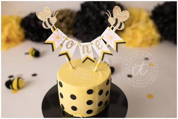 Pleasant Bee Cake Topper Bumble Bee Cake Topper Bee Party Decoration Etsy Personalised Birthday Cards Paralily Jamesorg