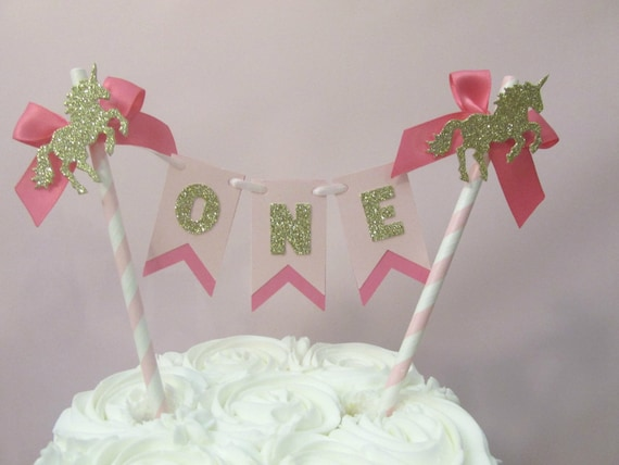 Unicorn Party Decorations Birthday Decor Cake