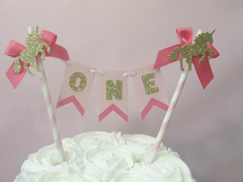 Unicorn Party Decorations Birthday Decor Cake
