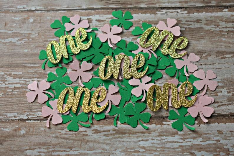 Irish First Birthday Decorations St Patricks Day 1st Girl