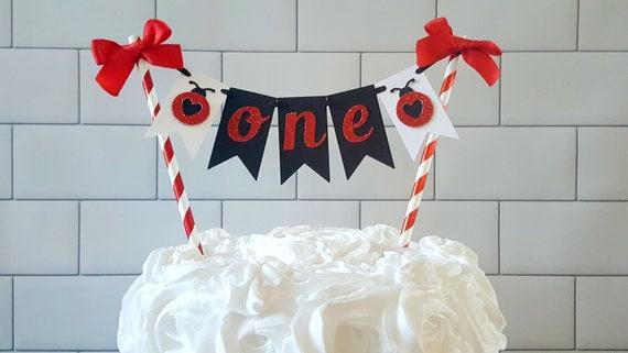 Amazing Ladybug Cake Topper Lovebug Cake Topper Ladybug First Etsy Personalised Birthday Cards Cominlily Jamesorg