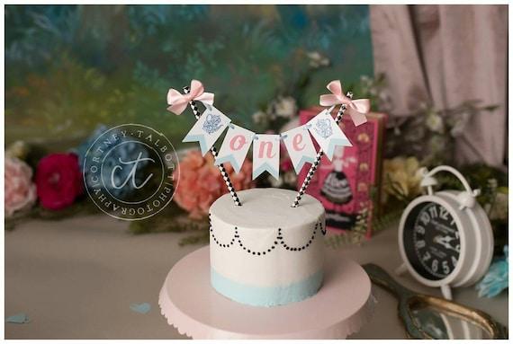 Strange Alice In Wonderland Cake Topper Alice In Wonderland Birthday Etsy Funny Birthday Cards Online Alyptdamsfinfo