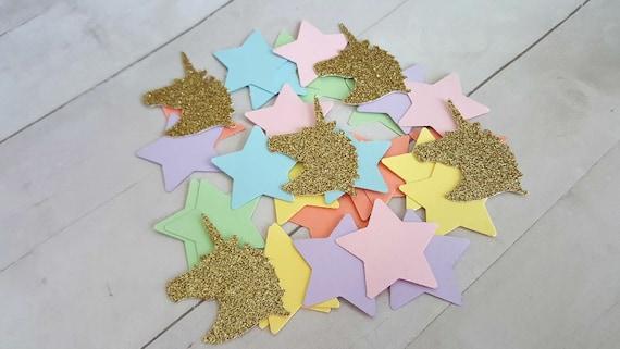 250 Unicorn And Star Table Confetti