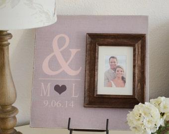 Cadeau de mariage personnalisé, cadre photo de mariage, signe de mariage, cadeau de mariage, personnalisés, cadre bébé