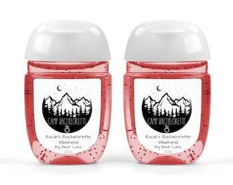 Bachelorette Party Favors Custom labels Nashville Skyline Hand Sanitizer Favor Bridal Shower Favors Nash Bash Hand Sanitizer Labels